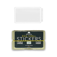 Eggshell Sticker Pack - Clear Line - 50pk