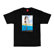 Visual X Jessie Andrews Caster T-Shirt - Black