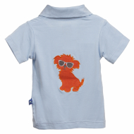 Kickee Pants S/S Polo Pond Beach Pup Pond Beach Pup 4T