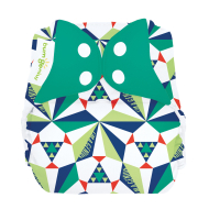 BumGenius Freetime - Sierpinski- All In One Diaper LIMITED EDITION