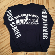 Rough Roads Crewneck Sweatshirt Navy