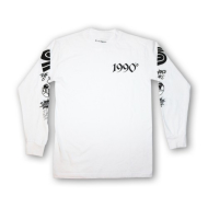 Supremacy Nineties Gods Long Sleeve T-Shirt - White