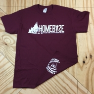 Steel Logo T-Shirt Burgundy