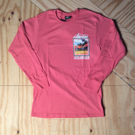Love & Hate LS T-Shirt Dark Pink