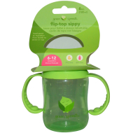 Green Sprout Flip Top Sippy
