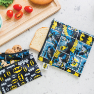 Bumkins DC Comics Reusable Snack Bag Large