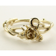 Rose Garden Ring, Yellow Gold