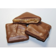 Milk chocolate Coated  Almond Toffee (8 oz box)