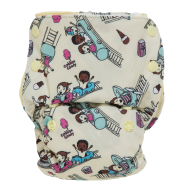 GroVia All In One Cloth Diapers Funfair