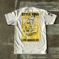 Dissizit Tee - Style King Tempt  - White