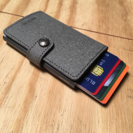 Slim Wallet Leather