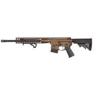 "LWRC DI RIFLE 556NATO BURNT BRONZE ""LIMITED EDITION"" 16"" 10RD BLK CALIFORNIA COMPLIANT"