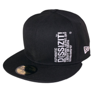 Dissizit NE Fitted - Vert Auth - Black