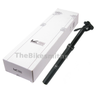 Kind Shock e-Ten Dropper Seatpost w/ Integrated Lever 385mm/100mm x 20mm Offset