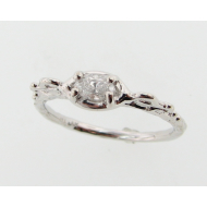 Odette's Diamond Ring, White Gold
