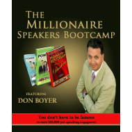 Millionaire Speakers Bootcamp - August 12-13, 2015