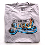 Ubiquity Don't Sell Your Soul T-Shirt - Silver