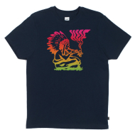 Huf Wavy Chief T-Shirt - Navy