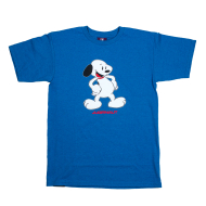 Jugrnaut Walt Schulz Snoopey Tee Royal Heather