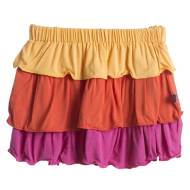 Kickee Pants Layered Ruffle Skirt  2T