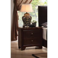 200422 Faux Marble Nightstand