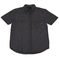 Dissizit S/S Button Up - Liberty - Black/Ripstop