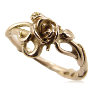 Rose Garden Ring, Rose Gold