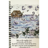 Journal with JSG custom art - Noah's Ark