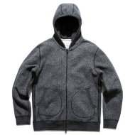 REIGNING CHAMP TIGER FLEECE HOODY BLACK