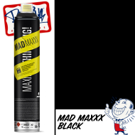 MTN Mad Maxxx Spray Paint - Black RV-9011