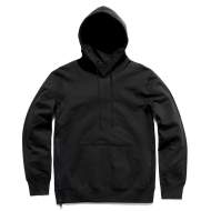 REIGNING CHAMP HWT PULLOVER ZIP HOODY BLACK