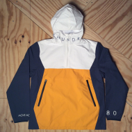 Anchor Anorak White / Yellow