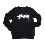 Stussy Stock Embroidery Crew