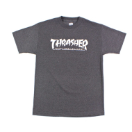 HUF HUF x Thrasher Asia Tour T-Shirt - Charcoal Heather