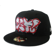 Dissizit NE Fitted - Prime DZT - Blk w/Red