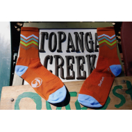 Topanga Creek Outpost Socks Cotton