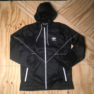 Pocket Tech Jacket Black/White