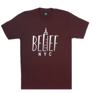 BELIEF EMPIRE TEE TRUFFLE