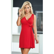 Cross Wrap Front Dress