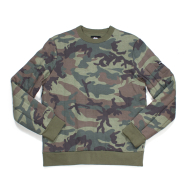 Stussy Quilted Crew Camo