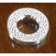 Pico SS Celtic Knot Engraved Top Cap
