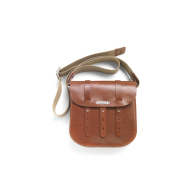 BROOKS B3 SERIES MOULDED LEATHER BAG, HON, B3
