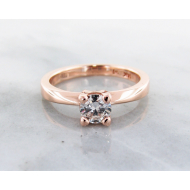1/2 ct. Rose Gold Solitaire, Wexford Standard