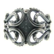Blackened Silver Band, Victorian