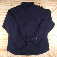 WOODSMAN FLANNEL NAVY LARGE