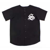 Supremacy All Foreign Baseball Jersey - Black