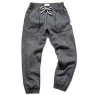 REIGNING CHAMP TIGER FLEECE SWEATPANT BLACK