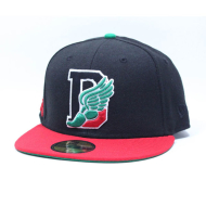 Dissizit NE Fitted - D-Wing 2012 - Blk/Red