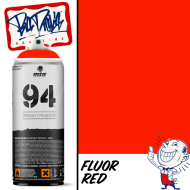 MTN 94 Spray Paint - Fluor Red