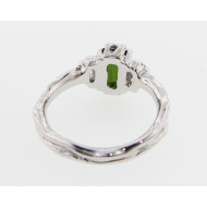 Tourmaline White Gold Ring, Timeless Luxury
